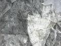Imparare a camminare-2011-tecnica mista su tela-120 x 100 cm..JPG