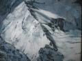 Sannyasin # 1.3 La via-2012-tecnica mista su tela-100 x 120 cm..JPG