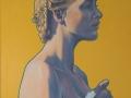 Busto di donna immerso nel giallo (Omaggio a Piero)-2001-olio su tela-120 x 100 cm..jpg