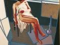 Modella nello studio-2000-olio su tela-120 x 100 cm..jpg