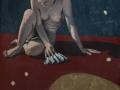 Studio di figura raccolta-2004-tecnica mista su tela-120 x 100 cm..jpg